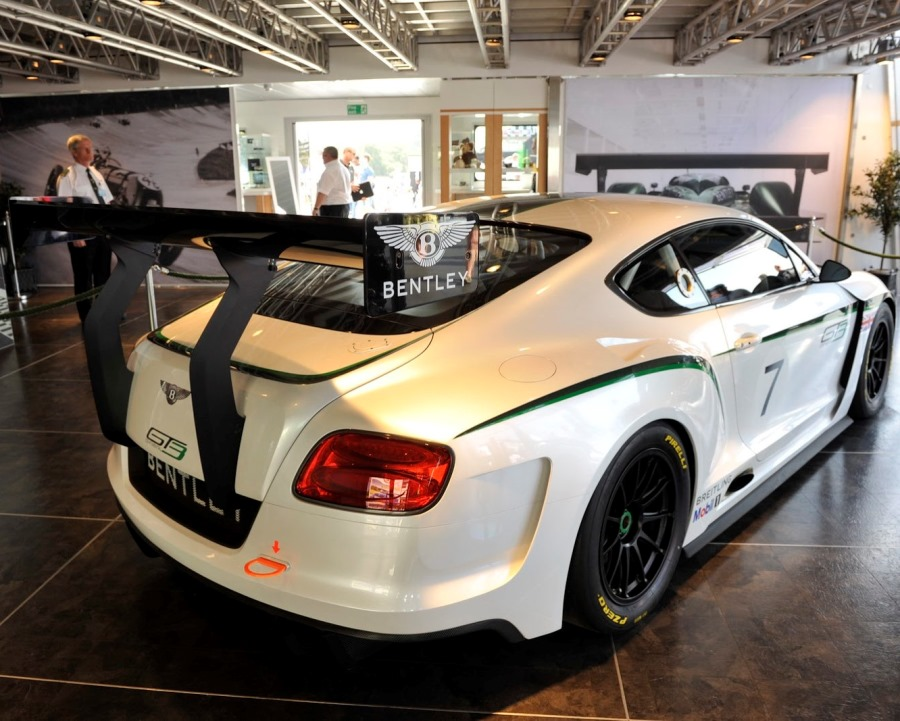 спойлер Bentley Continental GT3 Racecar 2014