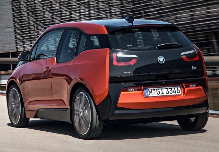 задние фонари BMW i3 2014