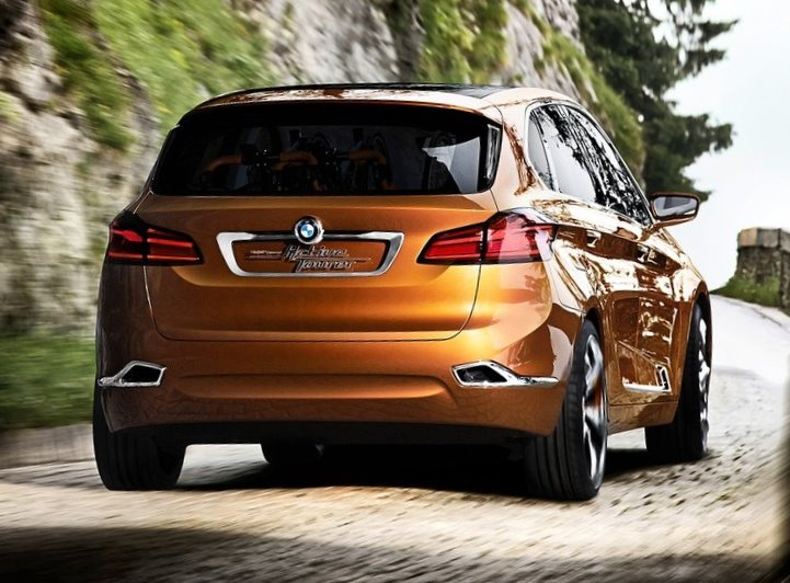 задняя часть BMW Active Tourer Outdoor Concept 2013