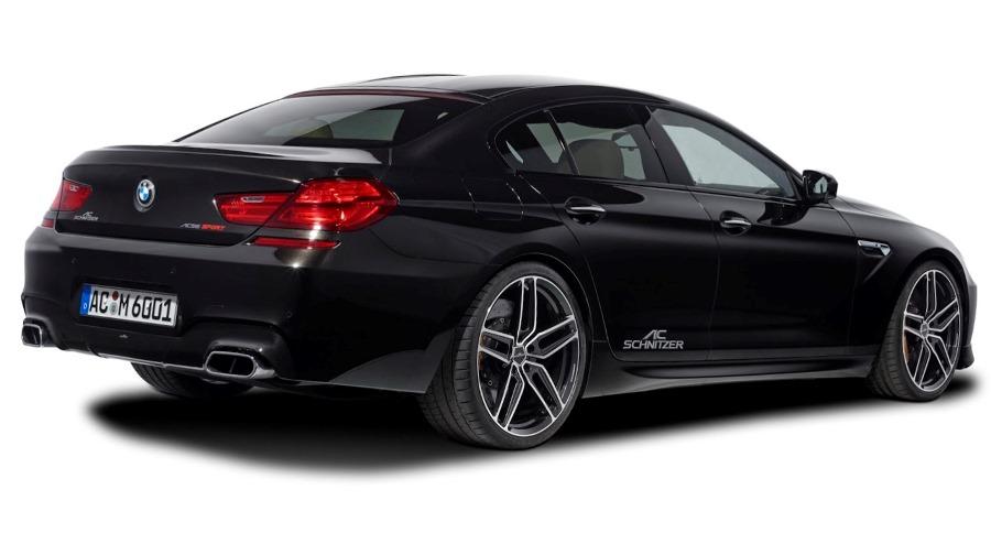 задняя часть GranCoupe BMW M6 от AC Schnitzer