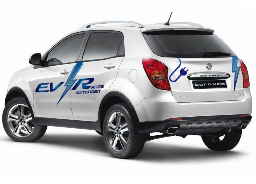 задняя часть SsangYong Actyon C EV-R 2014