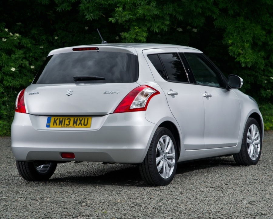 задняя часть Suzuki Swift 2014
