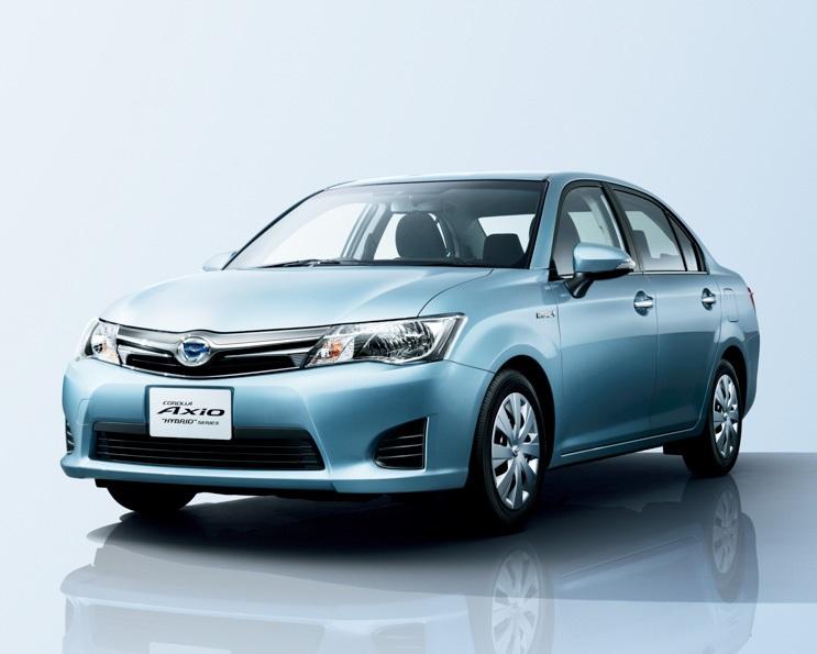 2014 Toyota Corolla Axio 2014 Rd0013 Hybrid | Apps Directories