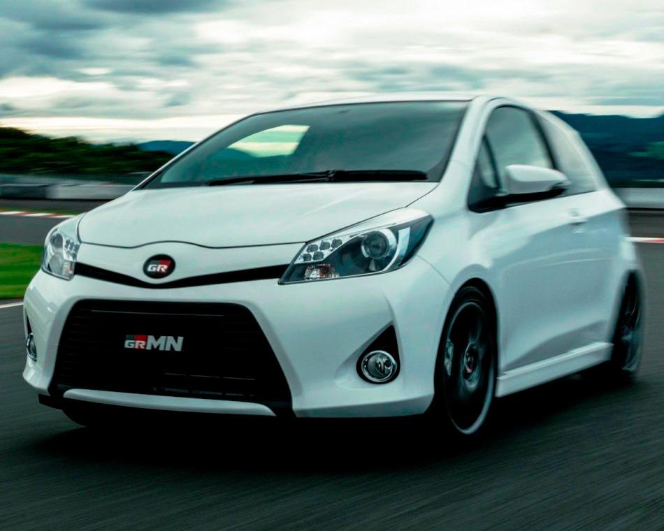 Toyota Yaris (Vitz) GRMN Turbo 2014