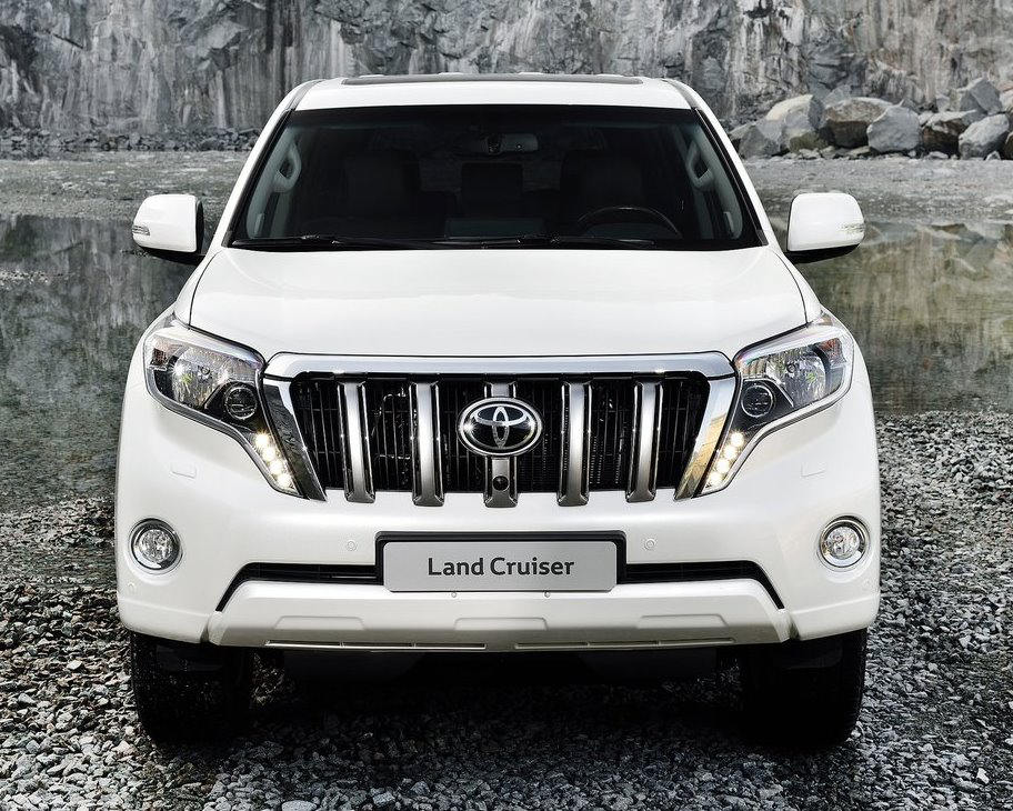 бампер и фары Toyota Land Cruiser Prado 2014