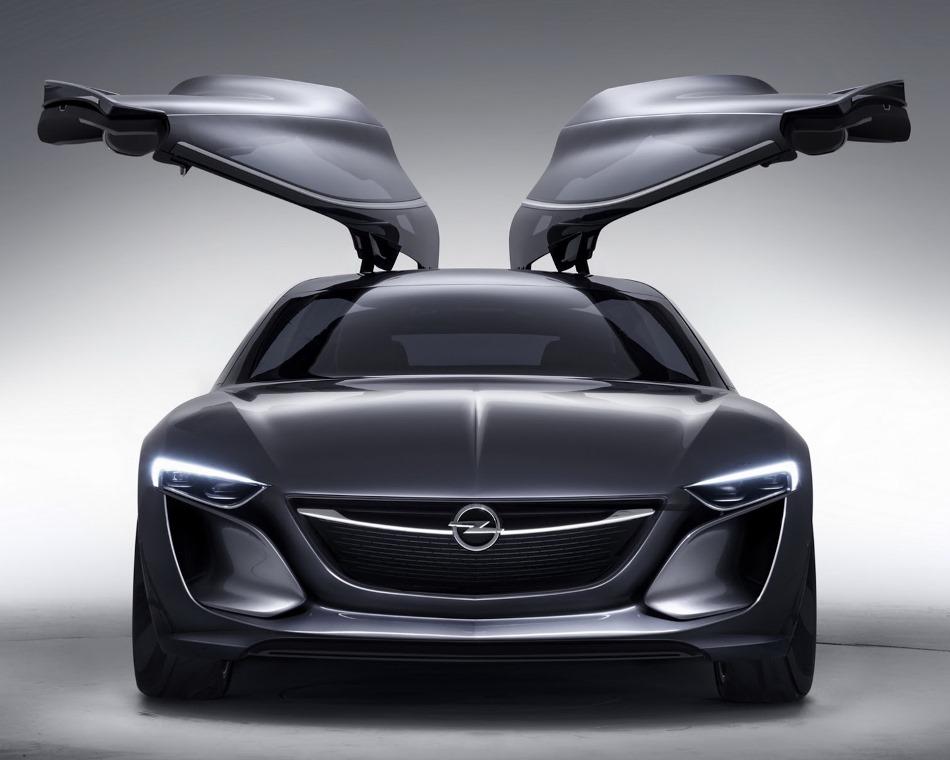 двери Opel Monza Concept 2013