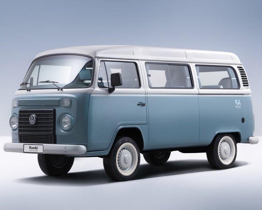 фары и бампер Volkswagen Kombi Last Edition 2013