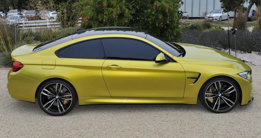 фото BMW M4 Coupe Concept 2013 сбоку
