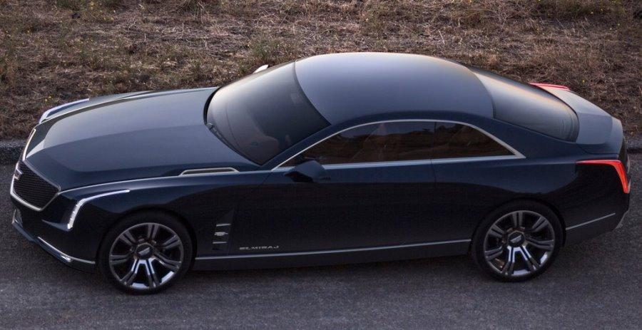 фото Cadillac Elmiraj Concept 2013 сбоку