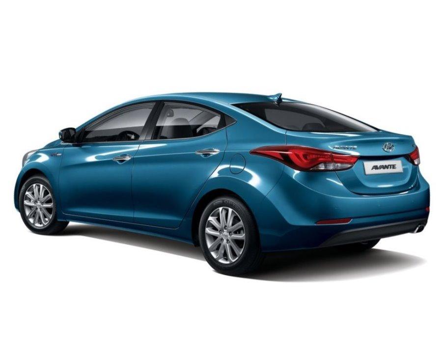 фото Hyundai Elantra 2014 сбоку