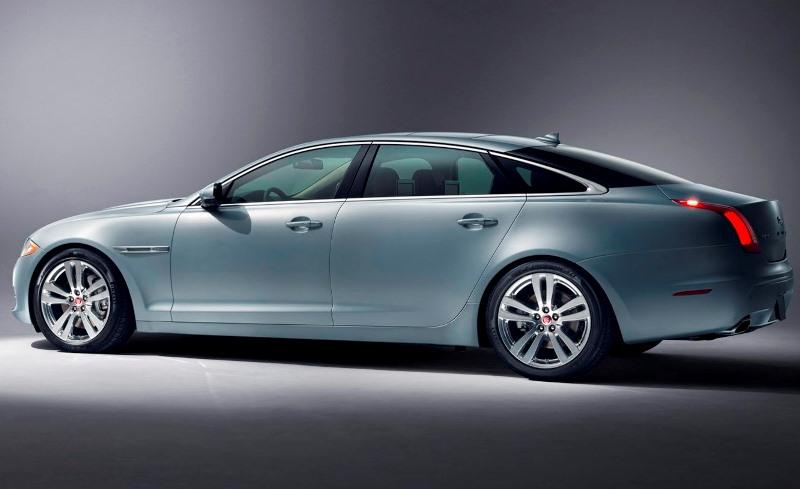 фото Jaguar XJ 2014 сбоку