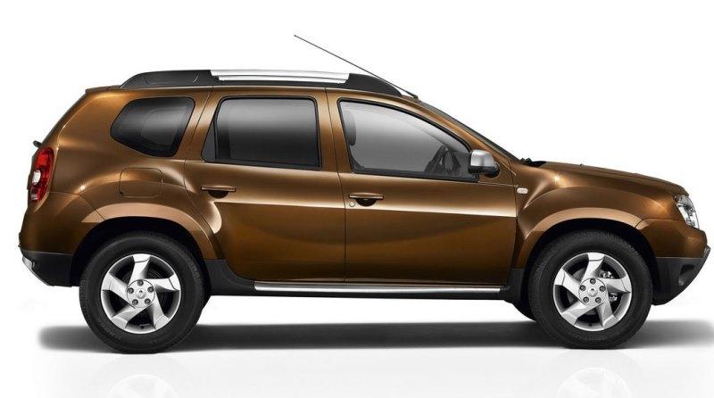 фото Renault Duster 2013 сбоку
