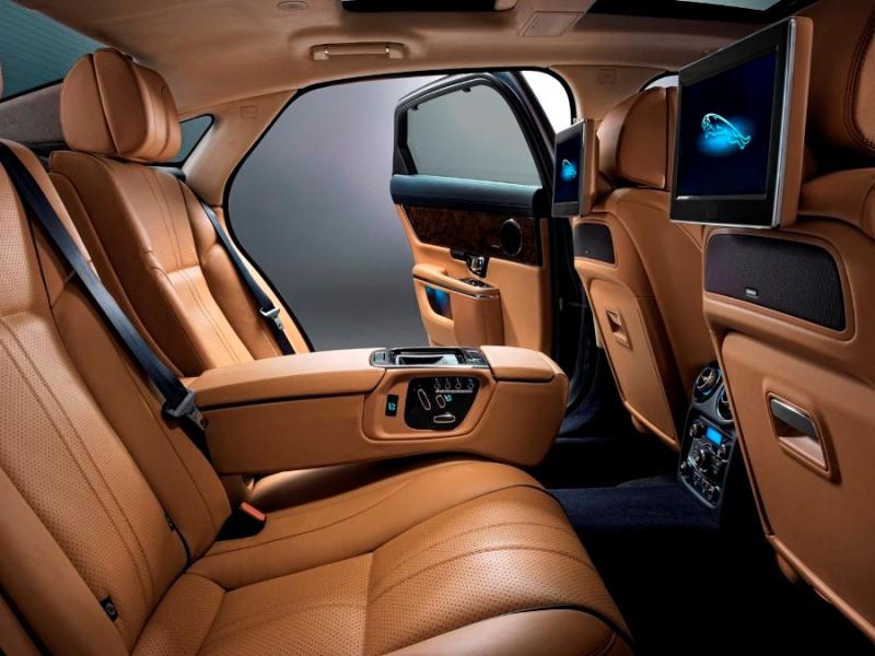 интерьер Jaguar XJ 2014