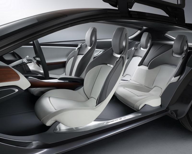 интерьер Opel Monza Concept 2013