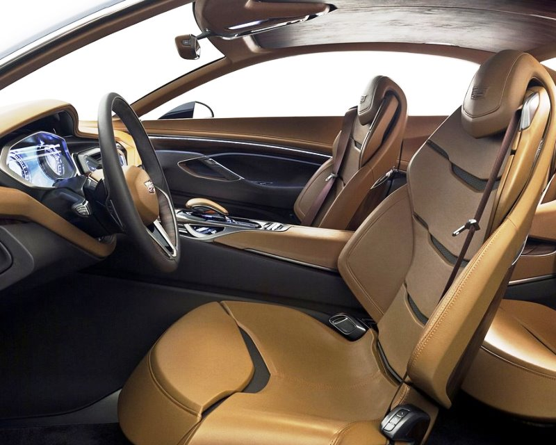 интерьер концепта Cadillac Elmiraj 2013