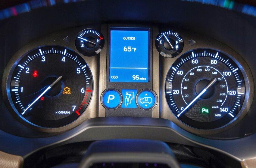 панель приборов Lexus GX 460 2014