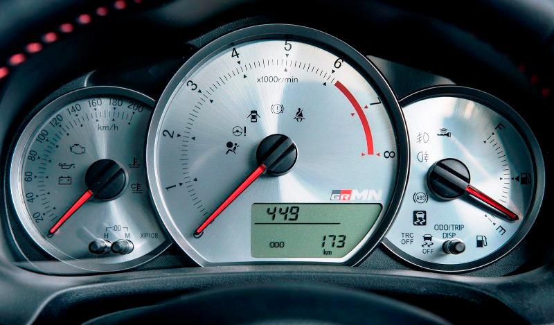 приборная панель Toyota Yaris (Vitz) GRMN Turbo 2014