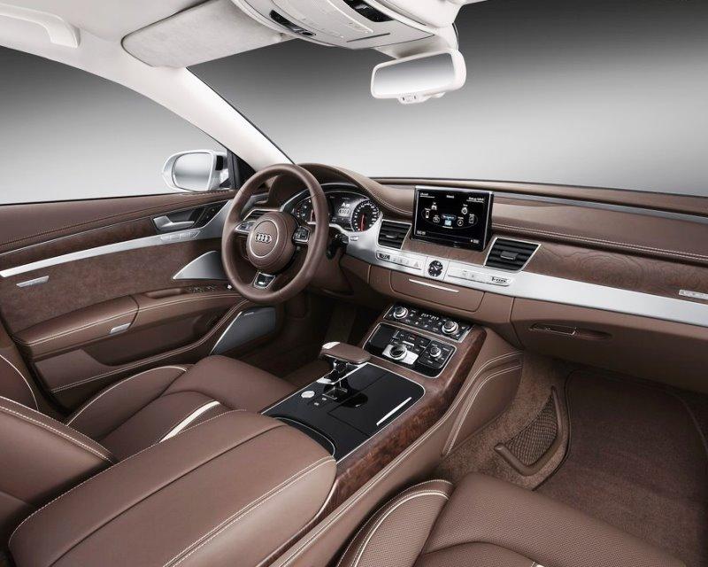 салон Audi A8 2014
