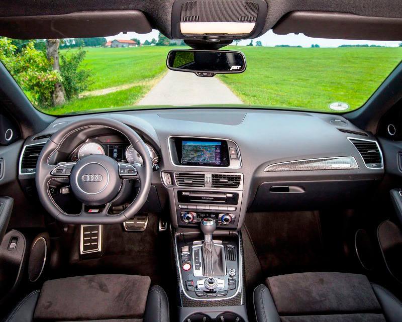 салон Audi SQ5 TDI 2013 от ABT Sportsline