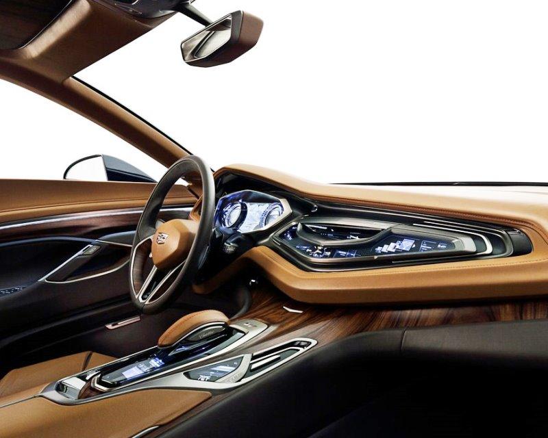 салон Cadillac Elmiraj Concept 2013