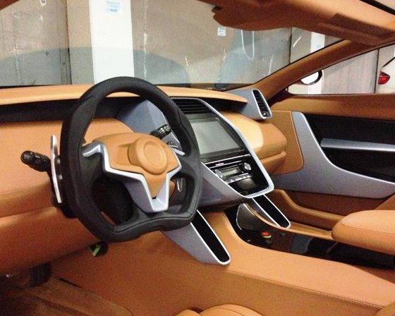 салон Laraki Motors Epitome Concept