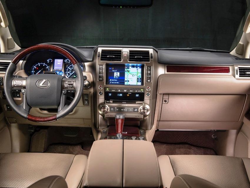 салон Lexus GX 460 2014