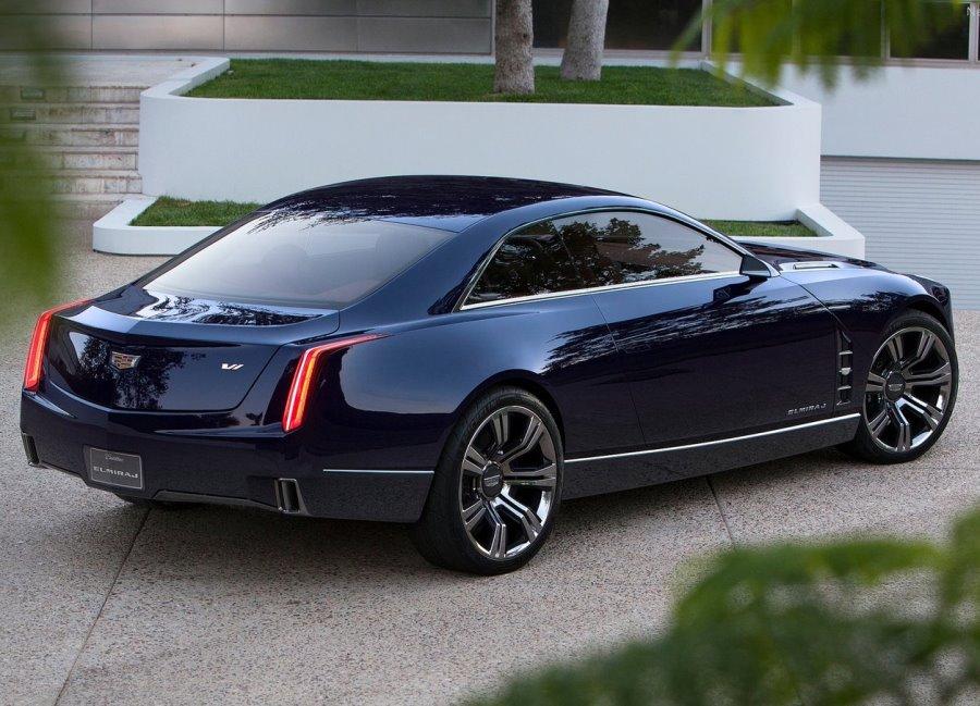 задние фонари Cadillac Elmiraj Concept 2013