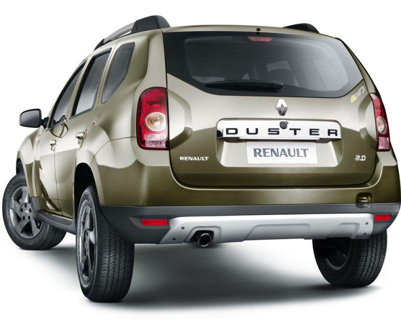 задние фонари Renault Duster 2013