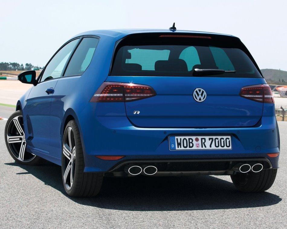 задние фонари Volkswagen Golf R 7