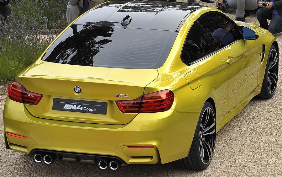 задняя часть BMW M4 Coupe Concept 2013