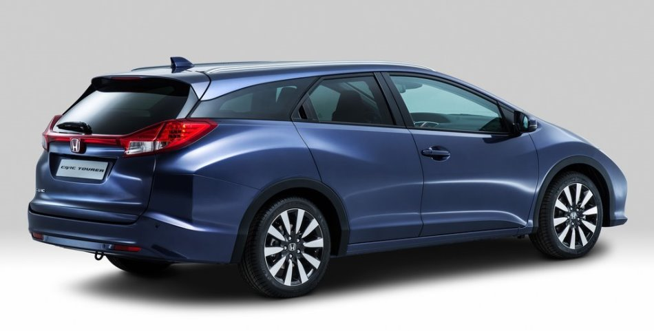 задняя часть Honda Civic Tourer 2014