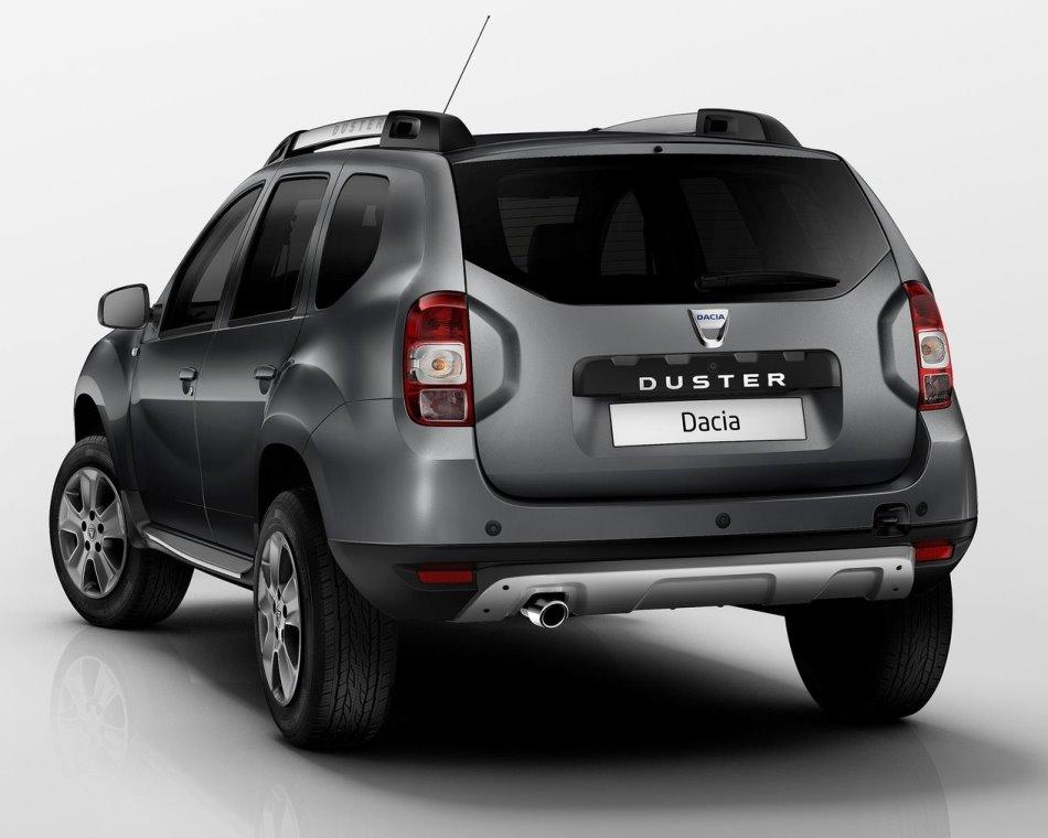задняя часть Renault Duster 2014