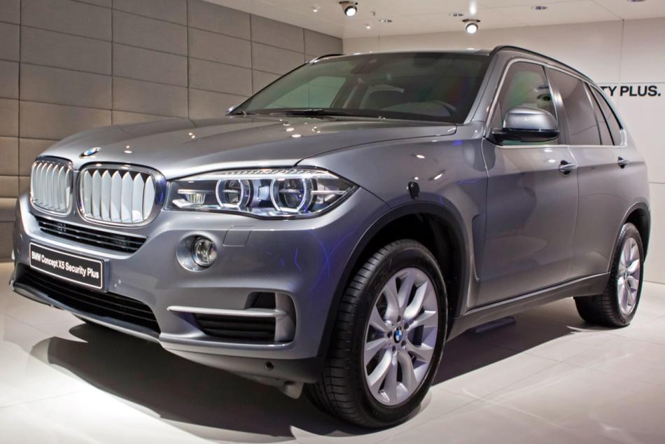 Бронированный BMW X5 Security Plus 2013