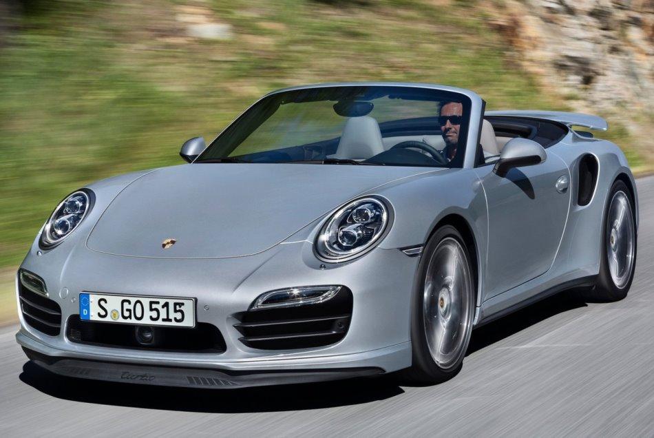 Кабриолет Porsche 911 Turbo 2014