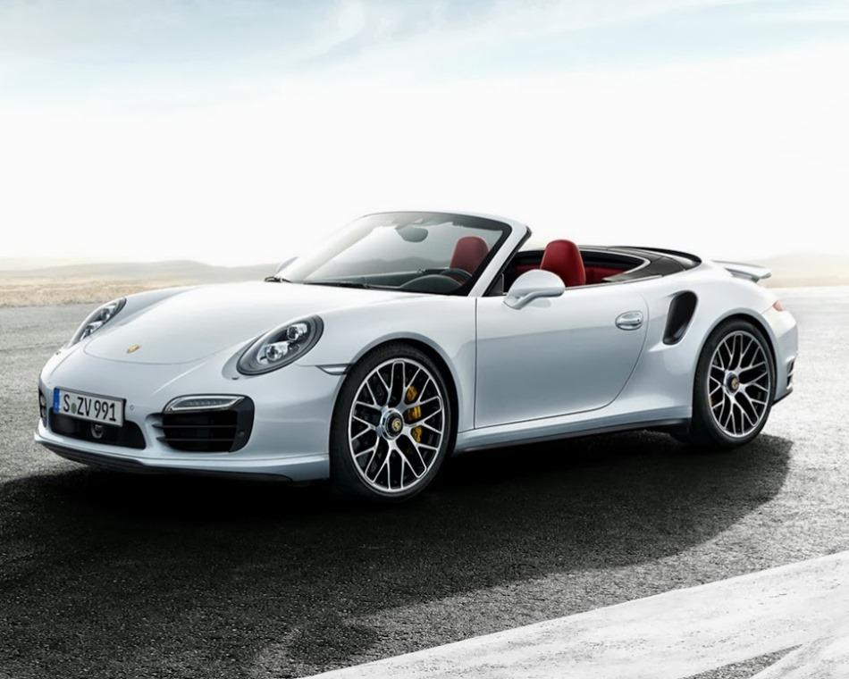 Кабриолет Porsche 911 Turbo S 2014 года