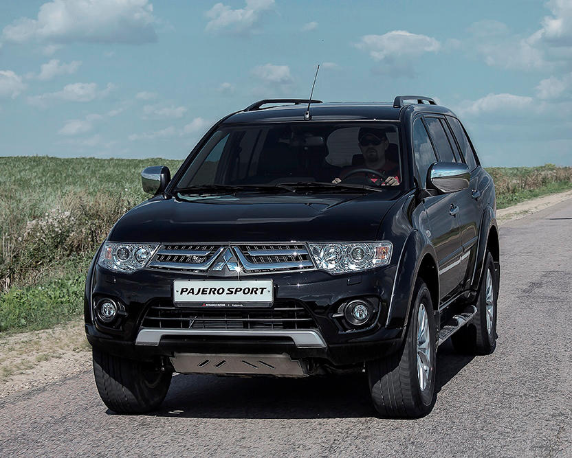 2014 mitsubishi pajero sport facelift launched in autos post. Black Bedroom Furniture Sets. Home Design Ideas