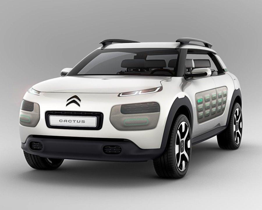 бампер и фары Citroen Cactus Concept 2013