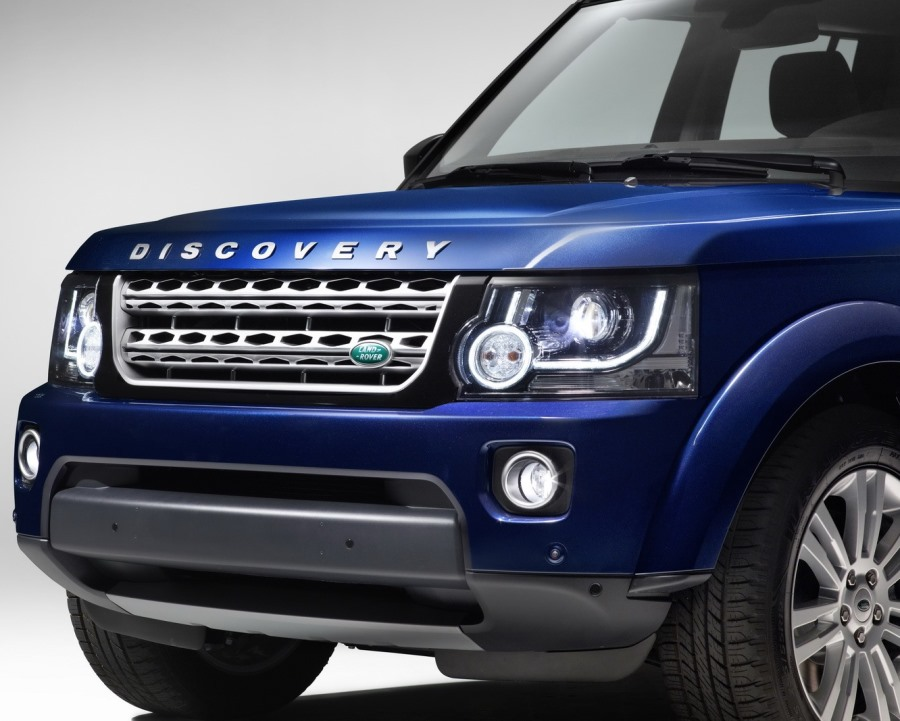 бампер и фары Land Rover Discovery 2014