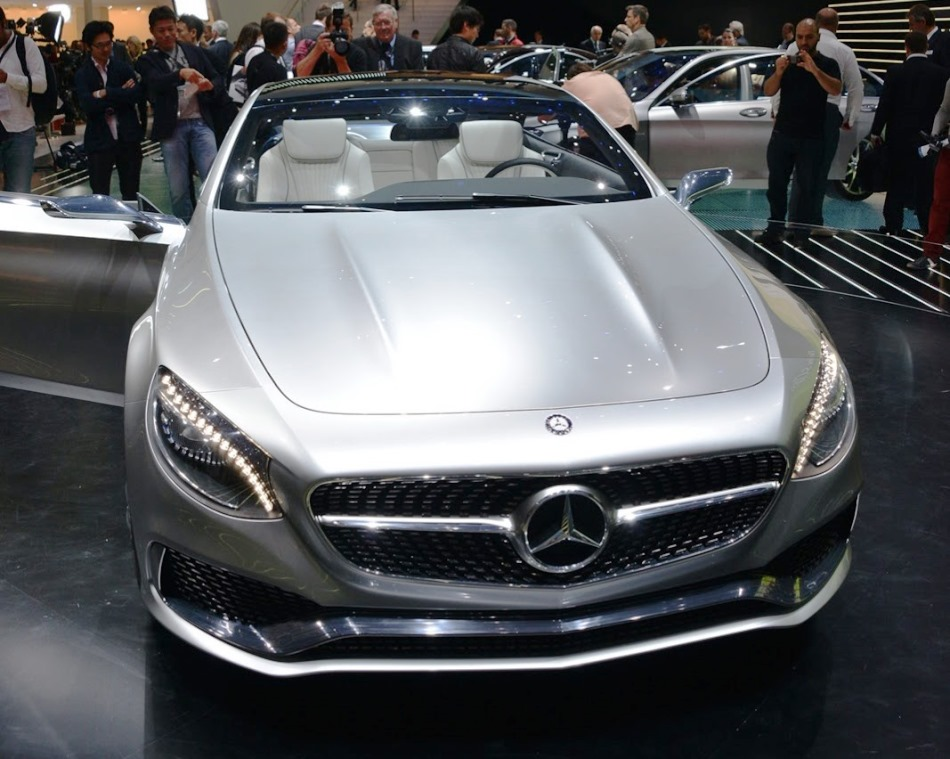 бампер и фары Mercedes S-Class Coupe 2013