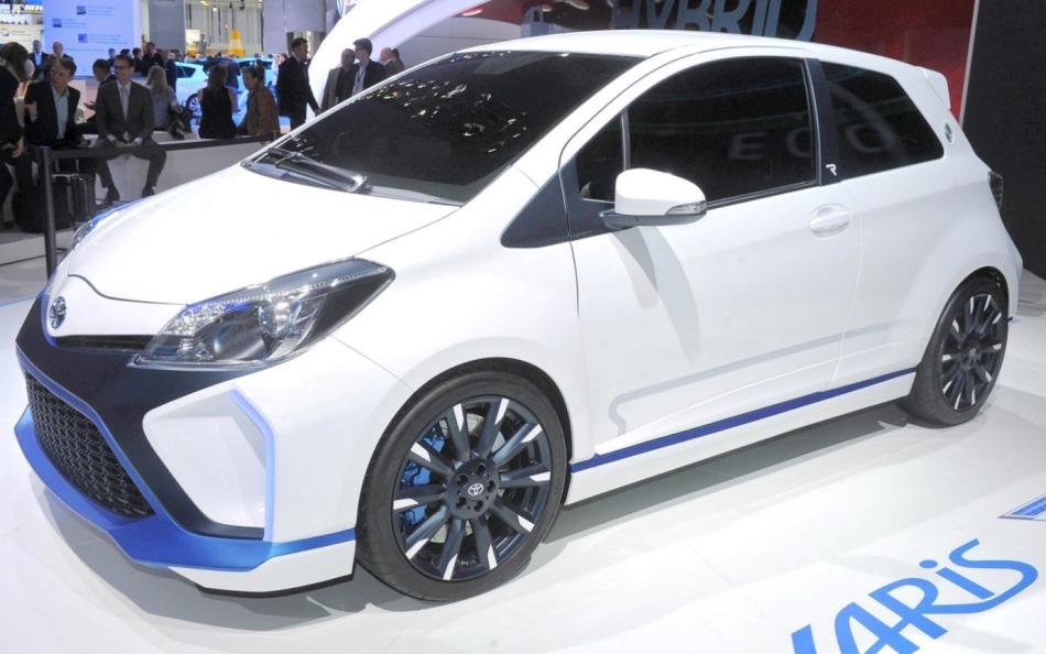 диски Toyota Yaris Hybrid-R Concept 2013