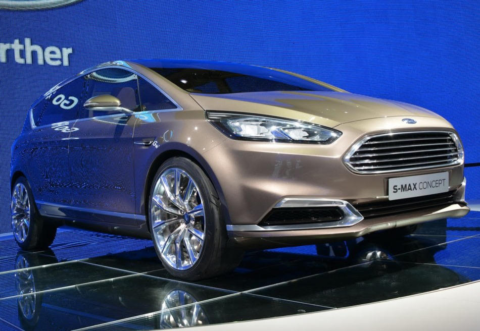 фары и бампер Ford S-MAX Concept 2013