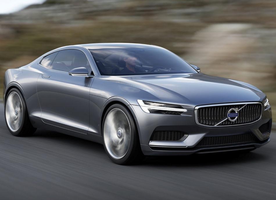 фары и бампер концепта Volvo Coupe 2013