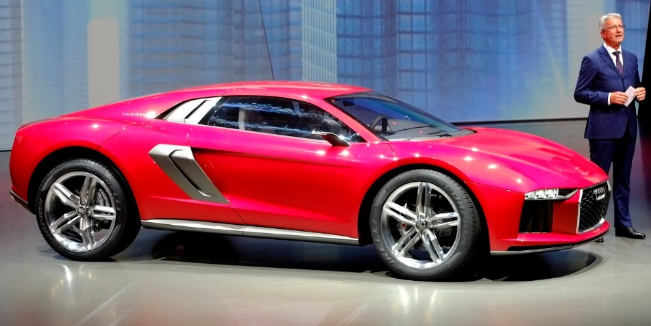 фото Audi Nanuk Quattro Concept 2013 сбоку