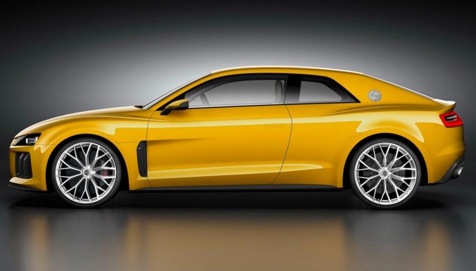 фото Audi Sport Quattro Concept сбоку