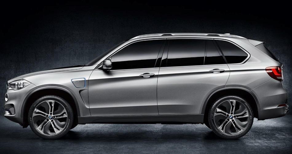 фото BMW X5 eDrive Concept 2013 сбоку