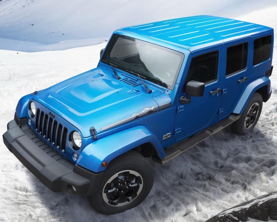 фото Jeep Wrangler Polar 2014 сверху