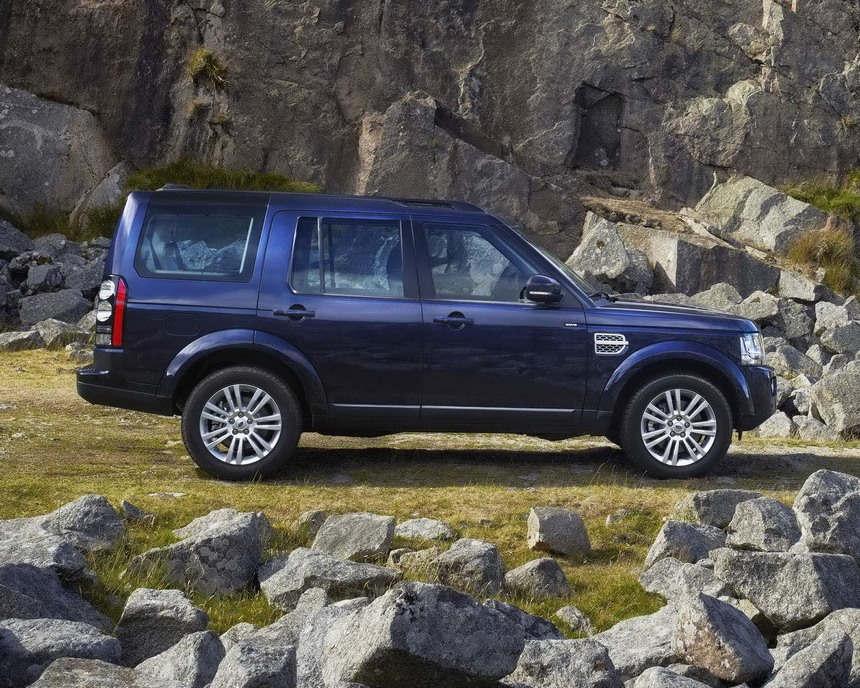 фото Land Rover Discovery 4 2014 сбоку