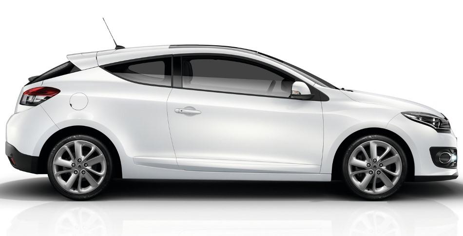 фото Renault Megane 2014 сбоку