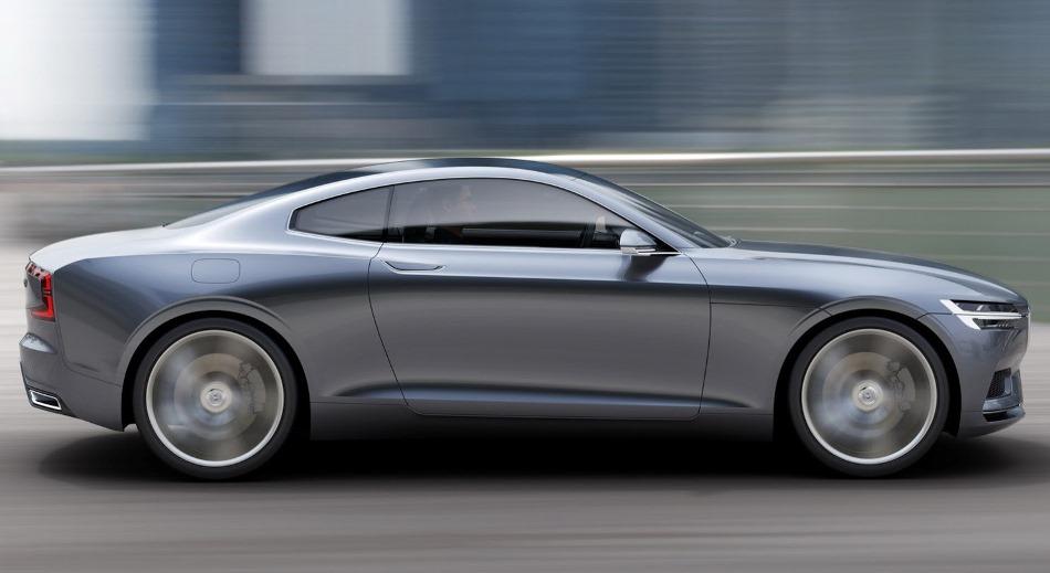 фото Volvo Coupe Concept 2013 сбоку