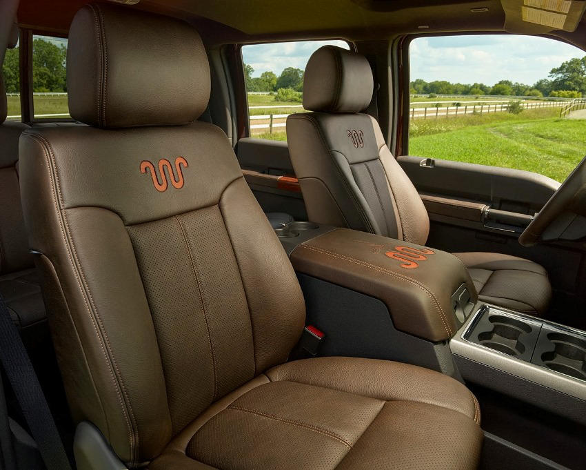 интерьер Ford F-Series Super Duty 2014